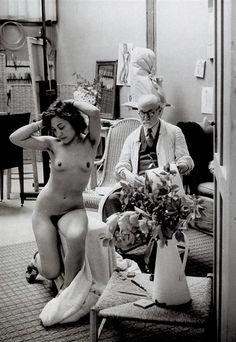 Brassai  (that's Matisse, isn't it?)