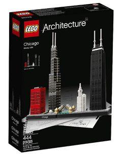 LEGO ARCHITECTURE 21033 Chicago nowość