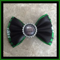Haunted mansion hair bow with image by Dreamloveandbows on Etsy