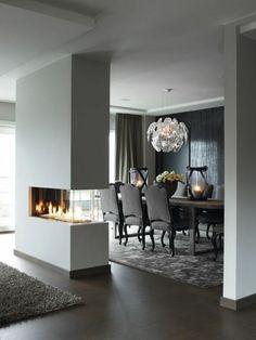 voici la salle à manger contemporaine en 62 photos! | chaise ... - Decoration Salon Salle A Manger Moderne