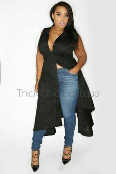 6dbdbe4fa Big Girl Fashion, Plus Fashion, Curvy Fashion, Complete Outfits, Plus Size  Outfits