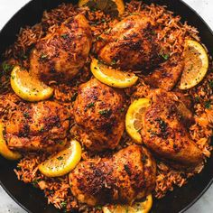 One Pan Spanish Chicken and Rice recipe: Easy one pan Spanish chicken and rice is made with simple seasoning that come together with zesty, bold flavors in this one pot, 30 minute meal. Rice Recipes, Mexican Food Recipes, Dinner Recipes, Cooking Recipes, Spanish Recipes, Spanish Meals, Spanish Cuisine, Cooking Pasta, Chicken And Spanish Rice