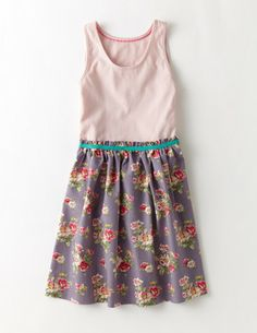 Boden JohnnieB Tank Top Dress in Dusk Posy. Summer dress for Emry.