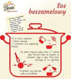 #beszamelowy #potrzebny #francji #przepis #prosto #bardzo #kuchni #sos #z #wSos beszamelowy prosto z Francji- przepis bardzo potrzebny w kuchni ;) Cooking Tips, Cooking Recipes, Healthy Recipes, Good Food, Yummy Food, Happy Foods, Polish Recipes, Food Inspiration, Catering