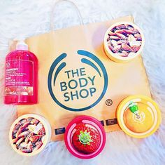 Haul from @thebodyshopusa! In love with their body butters :) Got a HUGE discount on everything too! From Instagram user @jacqrocamora Body Shop At Home, The Body Shop, Bath Products, Free Products, Girly Stuff, Girly Things, Beauty Bar, Beauty Tips, Health And Beauty