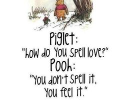 Pooh and Piglet explain LOVE