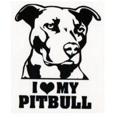 Decals, Stickers & Vinyl Art Pitbull Heart Vinyl Decal Sticker Car Window Bumper Wall I Love My Dog Rescue & Garden Terrier Dogs, Pitbull Terrier, Dogs Pitbull, Tatouage Pit Bull, Pitbull Drawing, Bully Dog, Tattoo Outline, Car Stickers, Window Stickers