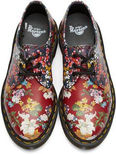 e779e90f75ba Dr. Martens - Multicolor Floral Mix 1461 FC Derbys Chaussettes