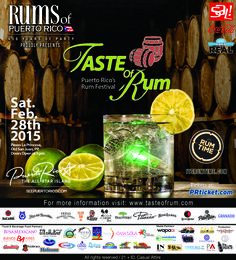 Taste Of Rums is a rum tasting event that you can not miss. This February 28 you must stay at http://www.hotelplazadearmaspr.com and enjoy great discount for staying with us and also half price tickets for this great event.  Call us at 787-722-9191 or email us at plazahj@gmail.com  We will waiting for you