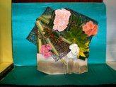 TapestryDesigner Julia Clevett Tapestry Floral, Tapestry Design, Flower Designs, Flower Arrangements, Floral Design, Tapestries, Tableware, Creative, Flowers