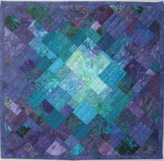Hey, I found this really awesome Etsy listing at https://www.etsy.com/listing/207842000/art-quilt-purple-teal-mosaic