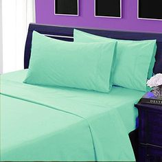 Comfort Beddings 850Thread Count 6pc Sheet Set Complete Bedding Option 100 Egyptian Cotton Solid >>> Want additional info? Click on the image.