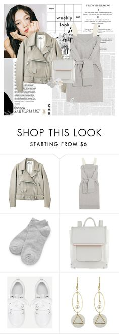 """""""You shine like the stars, you light up my heart."""" by e-laysian ❤ liked on Polyvore featuring Acne Studios, MM6 Maison Margiela, ALDO and Narciso Rodriguez"""