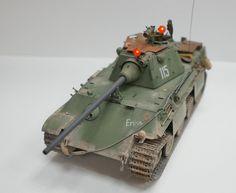 """Pz.Kpfw. V ausf.F """"Panther"""" — Каропка.ру — стендовые модели, военная миниатюра"""