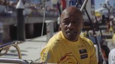 Abu Dhabi Ocean Racing welcomes New Zealand legend Jonah Lomu onboard Jonah Lomu, Black Legend, New Zealand Rugby, Abu Dhabi, Superstar, Racing, Ocean, Baseball Cards, Running