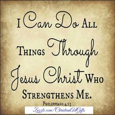 I can do all things including overcoming addiction through Jesus Christ who strengthens me Philippians Bible Verses For Women, Encouraging Bible Verses, Bible Verses Quotes, Encouragement Quotes, Scriptures, Religious Quotes, Spiritual Quotes, Spiritual Growth, Bible Verses For Depression