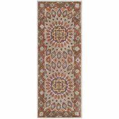 Safavieh Heritage Shevon Hand-Tufted Wool Runner Rug, Blue