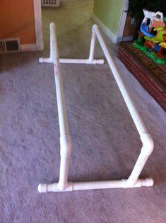 Homemade Pvc Parallel Bars Similar Design To Make For