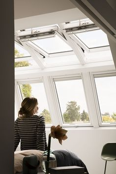 Zimmerei - Zimmerei Pfeiffer Skylight, Attic, Windows, Comfort, Design, Google Search, Glass House, Dormer Windows, Wood Stairs