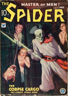 The Spider - July 1934
