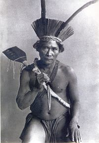 The Kali'na of Suriname. The Kali'na, are an indigenous people native to the northern coastal areas of South America. Today, the Kali'na live largely in villages on the rivers and coasts of Venezuela, Guyana, Suriname, French Guiana, and Brazil. They speak a Cariban language known as Carib. (V)