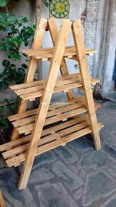 Wooden Pallet Projects, Small Wood Projects, Wooden Pallets, Wooden Diy, Pallet Wood, Pallet Ideas, Pallet Benches, Diy Projects, Pallet Designs