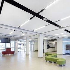 Image result for drop ceiling office design