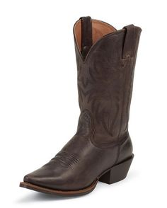 Women's Chocolate Competitor Fashion Toe Boot