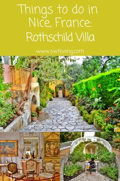 Things to do in Nice, France: Rothschild Villa | SWTliving