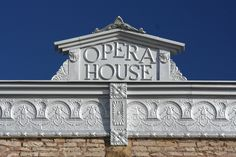 The Opera House in Sedan in Chautauqua County was built in 1904.  It is on the state register of historic places in Kansas.