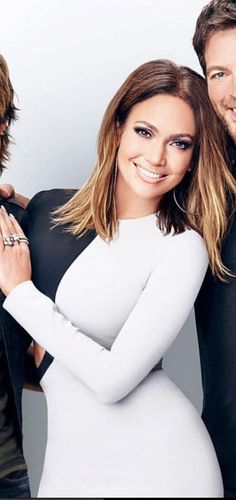 Who made Jennifer Lopez's white and black cut out dress?