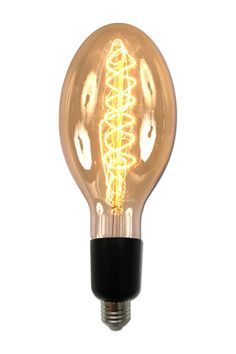 """Medium Tear Drop 11"""" Filament Bulb on @HauteLook Could hang it in the corner of your living room..."""