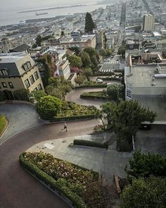 Lombard Street San Francisco by Nick Staib