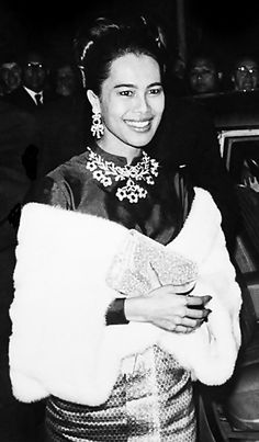 Her Majesty Queen Sirikit in Paris