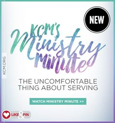 """""""Got time for a quick Ministry Minute? In this video, Kenneth Copeland explains how being uncomfortable serving God causes you to defeat the area of discomfort with the Word of God.""""""""Firsts"""""""" can be uncomfortable, right? The first time you tried out for the team. The first time you drove a car. The first time you became a parent. Serving God for the first time, serving somewhere new, or taking on a new role, can also be a little uncomfortable. Well, you can become comfortable doing the…"""