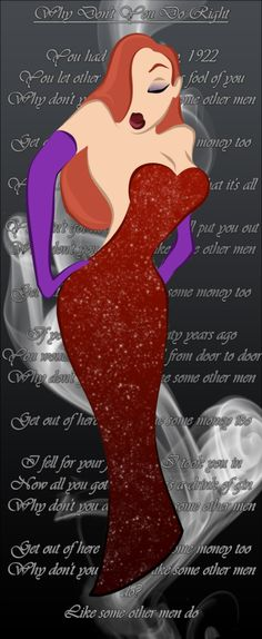 Jessicarabbit tribal colored