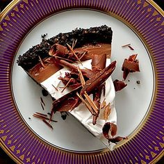 Mocha-Espresso Cream Pie is a chocolate-lover's dream. A crunchy cookie crust is filled with a decadent chocolate filling before being...