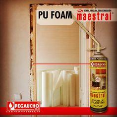 Ideal para llenar los vacíos que quedan en la instalación de puertas, aires acondicionados, ventiladores, entre otros. Fácil de aplicar y de quitar el exceso, se puede pintar.