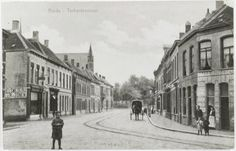 Terheijdenstraat rond 1910