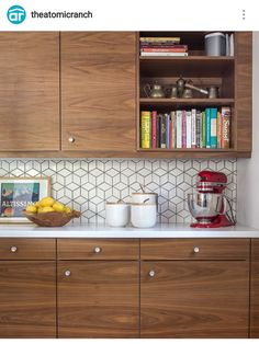 Check out this mid century modern kitchen renovation. A Vintage Splendor shares … Check out this mid century modern kitchen renovation. A Vintage Splendor shares tips, sources, and information to get an updated kitchen. Home Kitchens, Modern Kitchen Interiors, Vintage Kitchen, Kitchen Interior, Interior Design Kitchen, Kitchen Remodel Layout, Mid Century Modern Kitchen, Kitchen Remodel Before And After, Modern Kitchen Design