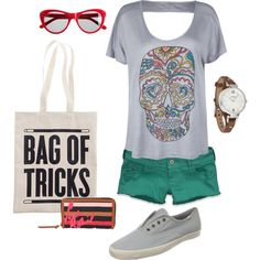 Running Errands, created by learaebaker.polyvore.com