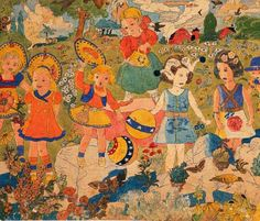 The writings, collages, drawings and paintings of Henry Darger have amazed viewers all over the world. His artwork explodes with color, patterns, landscapes, fantastic creatures, epic battles, evil…