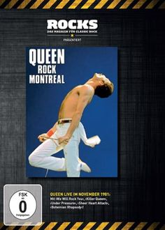"DVD dei #Queen intitolato ""Rock Montreal (Rocks Edition)""."