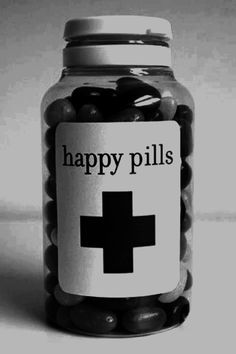 "My mom used to ask if there was ""a happy pill"" for times when any of us were feeling down..."