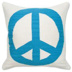 Jonathan Adler Peace/Love Pillow