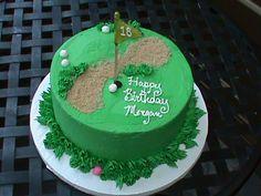 18th birthday Golf theme cake1   Flickr - Photo Sharing!