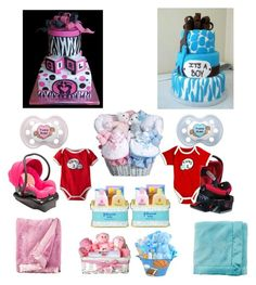 """""""Baby shower!!"""" by riz08 on Polyvore featuring Circo, Johnson's Baby, Maxi-Cosi and Britax"""