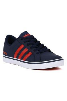 1447014eb5f Tênis Casual Masculino Adidas Pace Azul marinho vermelho