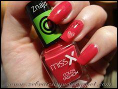 Zebra Testuje: Krwista czerwień od Miss X + Sally Hansen Complete...