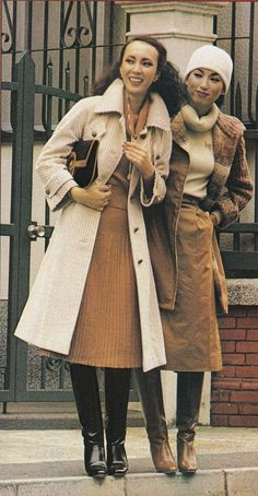 70s Fashion, Fashion Boots, Winter Fashion, Fashion Dresses, Vintage Fashion, 70s Inspired Outfits, Japanese Lady, Vintage Boots, Vintage Patterns